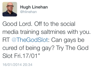 RTE The God Slot Need Social Media Training