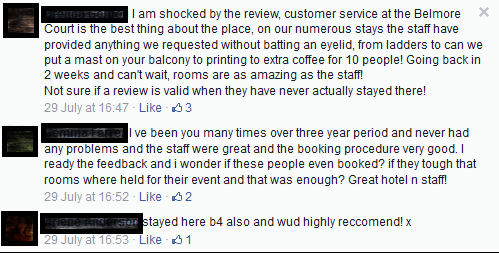 Online reputation management positive response to negative reviews