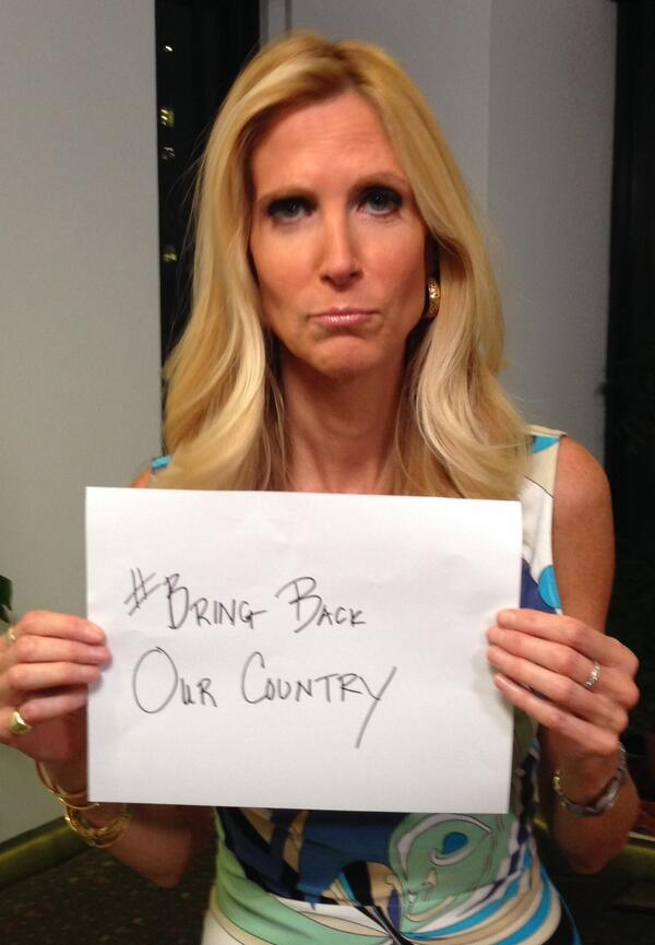 Ann Coulter mocks Michelle Obama on Twitter