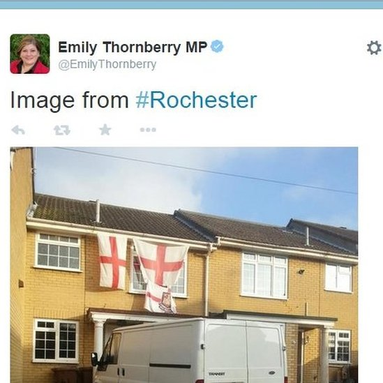 Emily Thornberry tweet about Rochester
