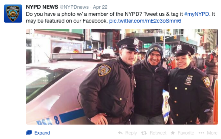 #mynypd Twitter campaign