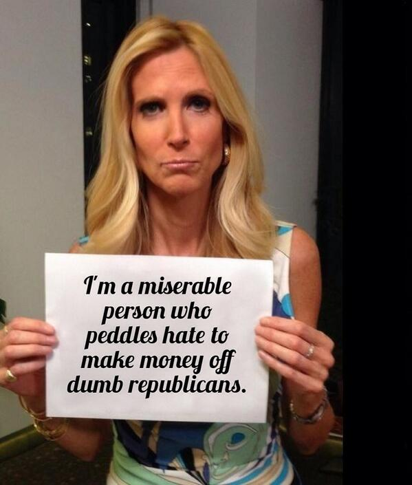 Response to Ann Coulter Twitter mocking