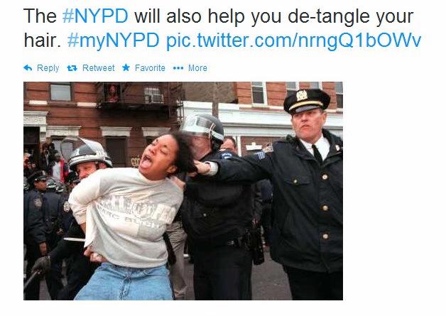 Twitter fail #myNYPD